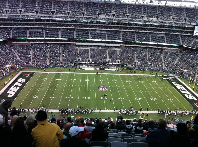 Seating view for Metlife Stadium Section 339 Row 26 Seat 17