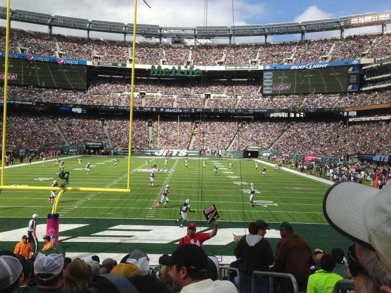 Seating view for MetLife Stadium Section 126 Row 14 Seat Aisle