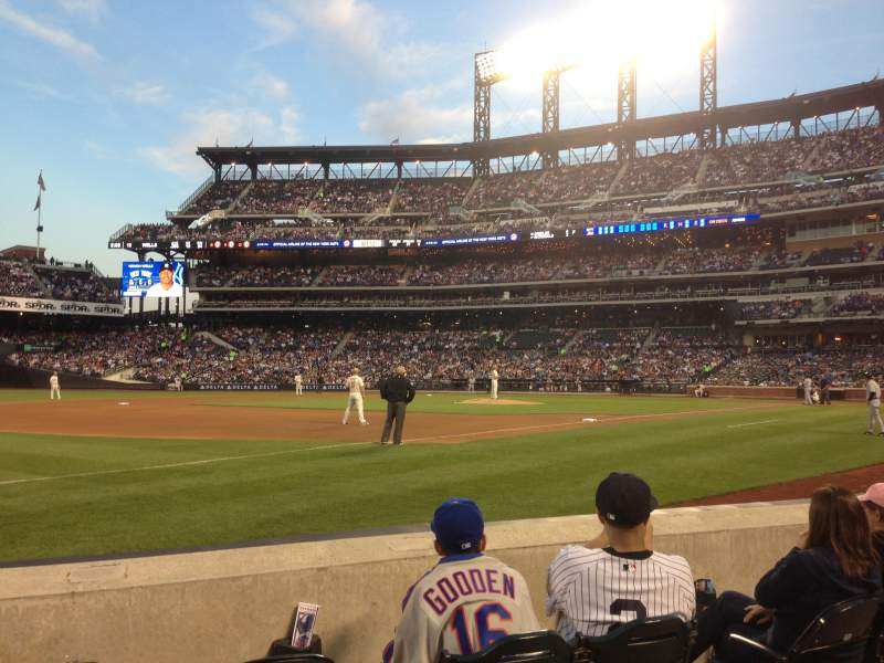 Seating view for Citi Field Section 125 Row D