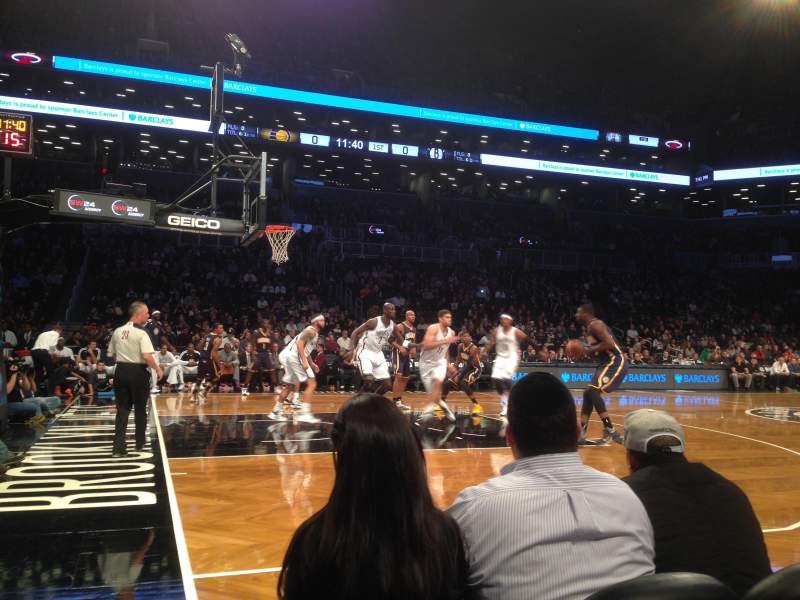 Seating view for Barclays Center Section 25 Row C Seat 17