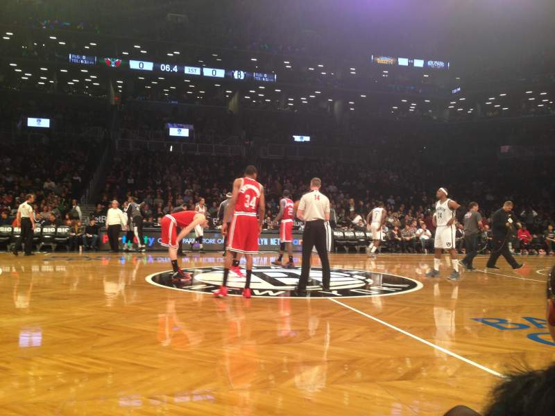 Seating view for Barclays Center Section 24 Row B Seat 11