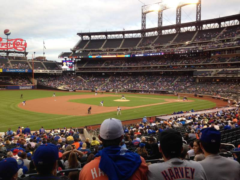Seating view for Citi Field Section 125 Row 27 Seat 10