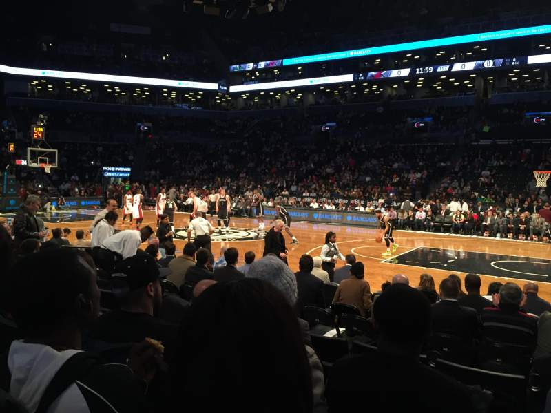 Seating view for Barclays Center