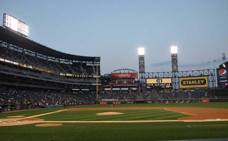 Seating view for Guaranteed Rate Field Section 126 Row 9 Seat 2