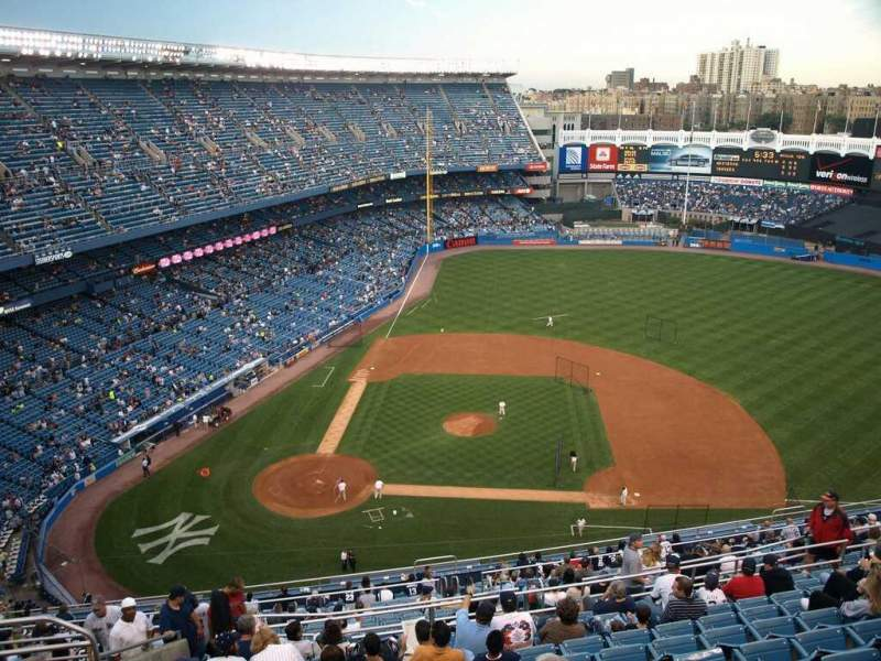 Seating view for Old Yankee Stadium Section Tier 11 Row L Seat 3