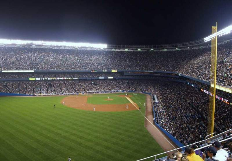 Seating view for Old Yankee Stadium Section 670 Row E Seat 20