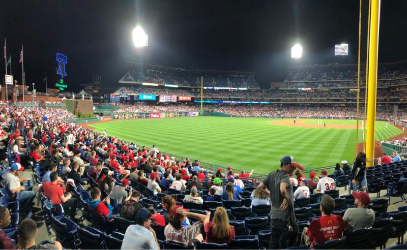 Seating view for Citizens Bank Park Section 141 Row 17 Seat SRO