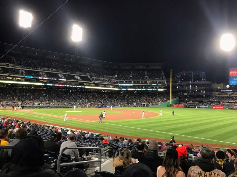 Seating view for PNC Park Section 103 Row J Seat 22