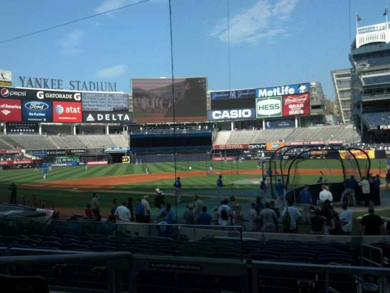 Seating view for Yankee Stadium Section 121a Row 16 Seat 10