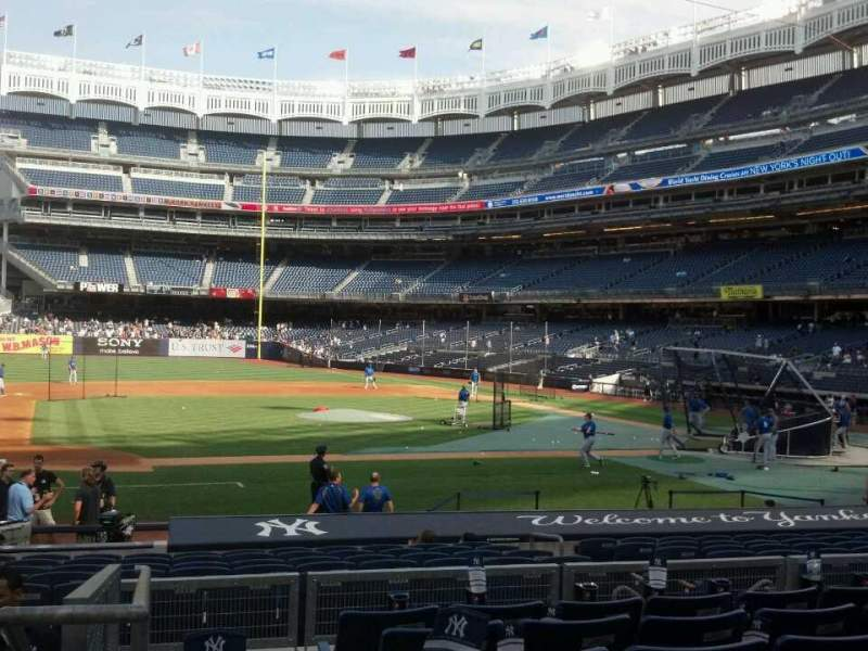 Seating view for Yankee Stadium Section 124 Row 18 Seat 18