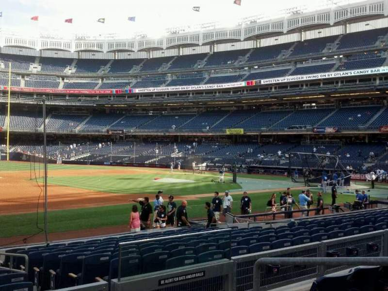 Seating view for Yankee Stadium Section 127a Row 15 Seat 4