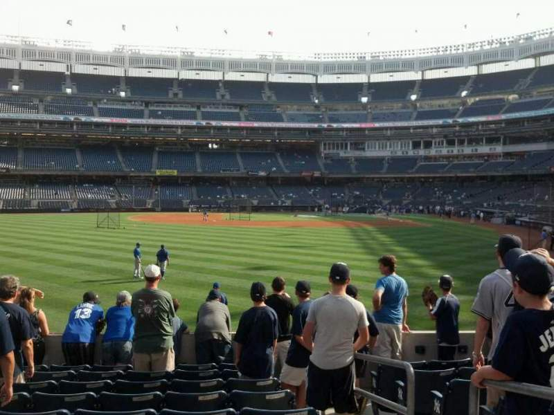 Seating view for Yankee Stadium Section 135 Row 19 Seat 2