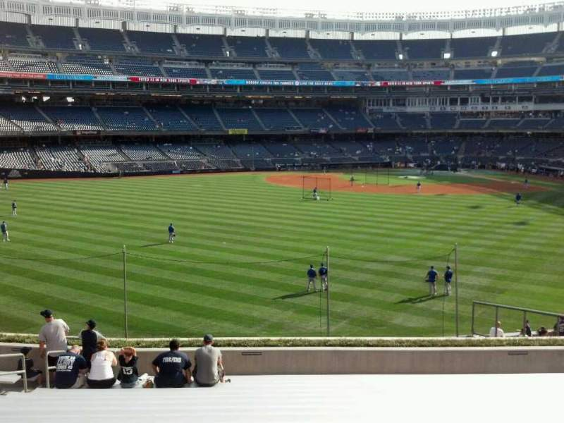Seating view for Yankee Stadium Section 237 Row 18 Seat 25
