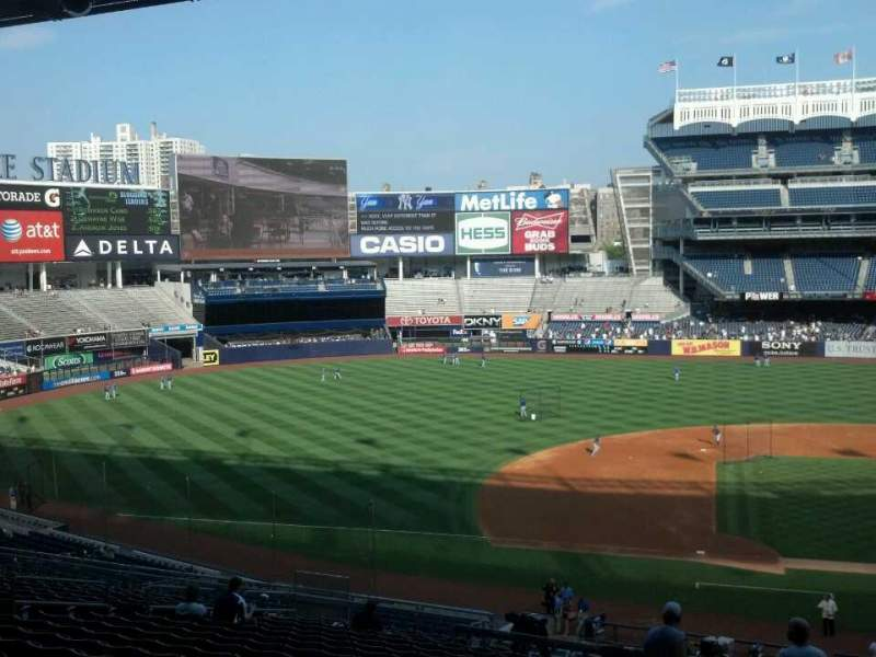 Seating view for Yankee Stadium Section 225 Row 19 Seat 2