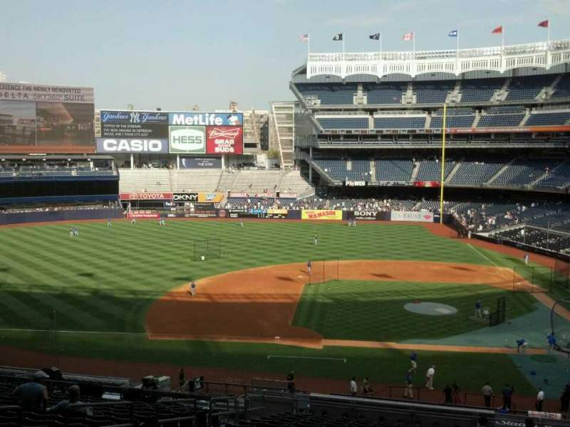 Seating view for Yankee Stadium Section 224 Row 19 Seat 10