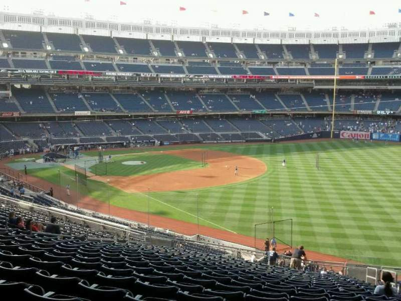 Seating view for Yankee Stadium Section 210 Row 21 Seat 6