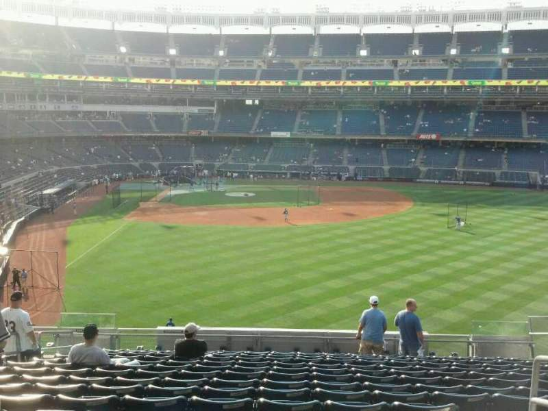 Seating view for Yankee Stadium Section 205 Row 16 Seat 21