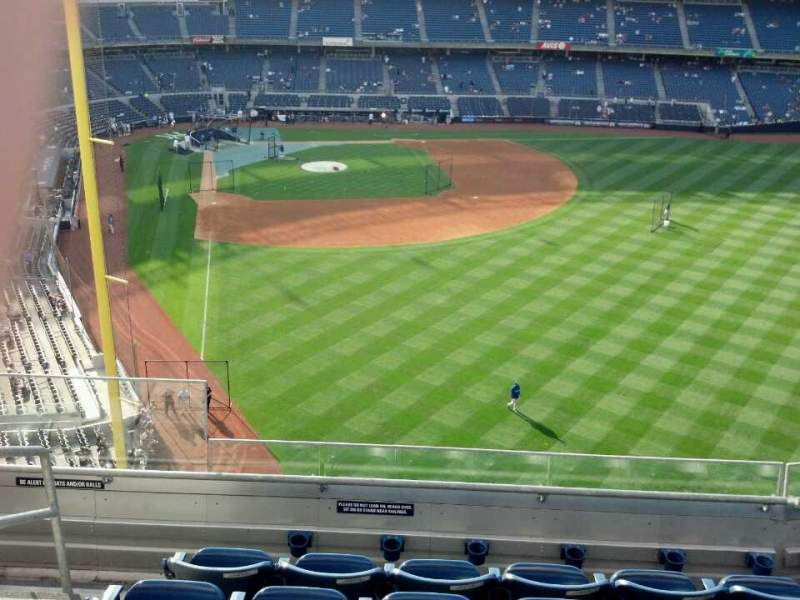 Seating view for Yankee Stadium Section 306 Row 6 Seat 25