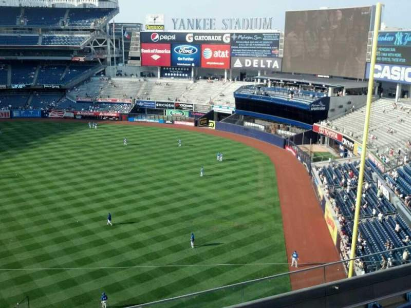 Seating view for Yankee Stadium Section 310 Row 5 Seat 14