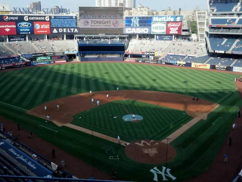 Seating view for Yankee Stadium Section 320c Row 3 Seat 11