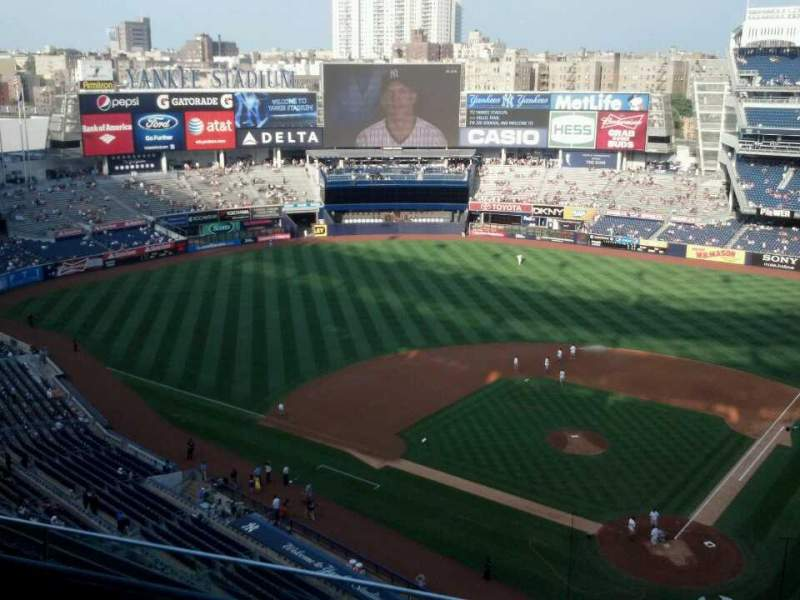 Seating view for Yankee Stadium Section 421 Row 4 Seat 10