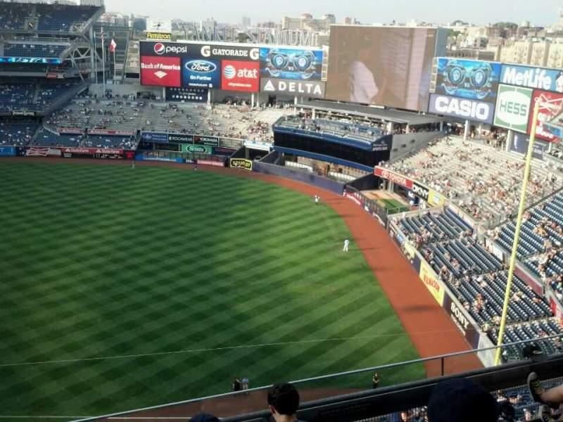 Seating view for Yankee Stadium Section 412 Row 5 Seat 13