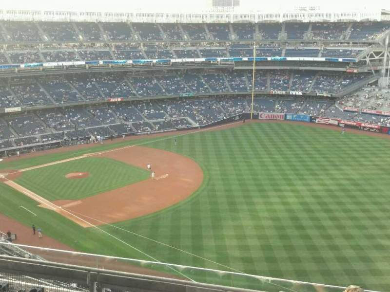 Seating view for Yankee Stadium Section 410 Row 5 Seat 4