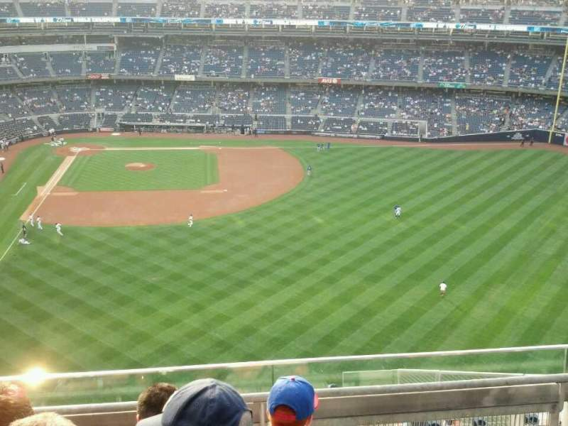 Seating view for Yankee Stadium Section 405 Row 4 Seat 10