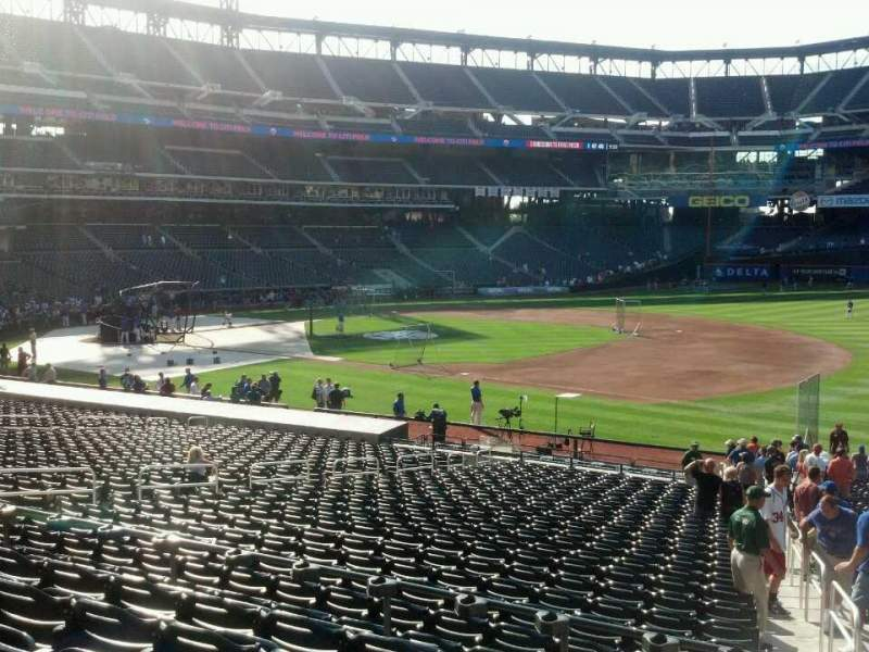 Seating view for Citi Field Section 111 Row 28 Seat 19