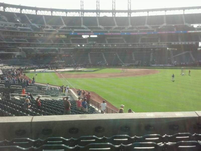 Seating view for Citi Field Section 104 Row 31 Seat 8