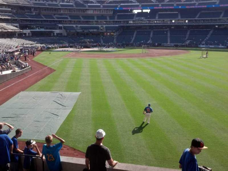 Seating view for Citi Field Section 102 Row 11 Seat 10