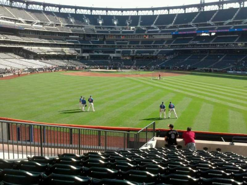 Seating view for Citi Field Section 142 Row 15 Seat 8