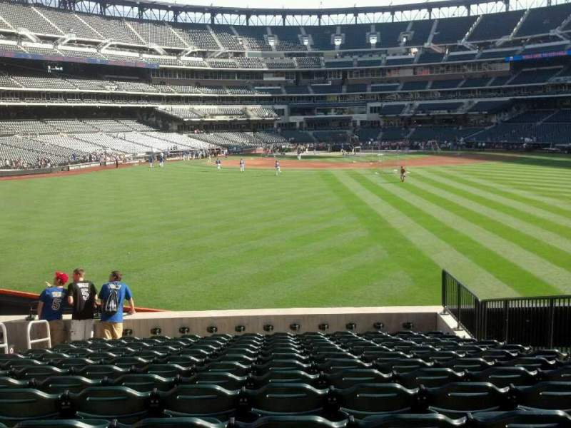 Seating view for Citi Field Section 140 Row 14 Seat 7