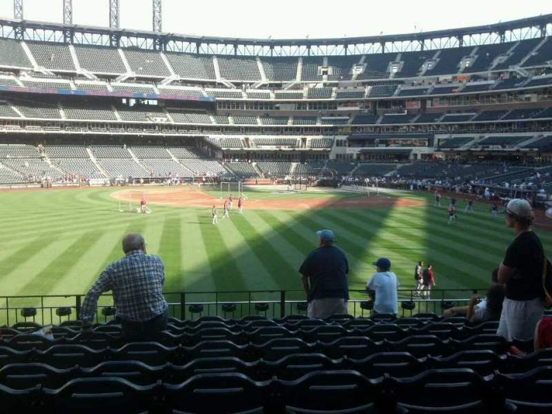 Seating view for Citi Field Section 136 Row 10 Seat 13