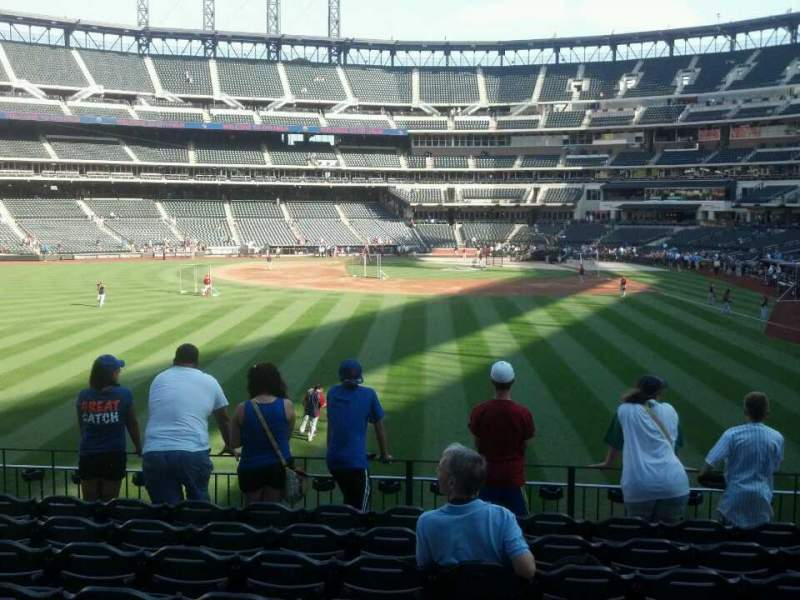 Seating view for Citi Field Section 135 Row 8 Seat 10