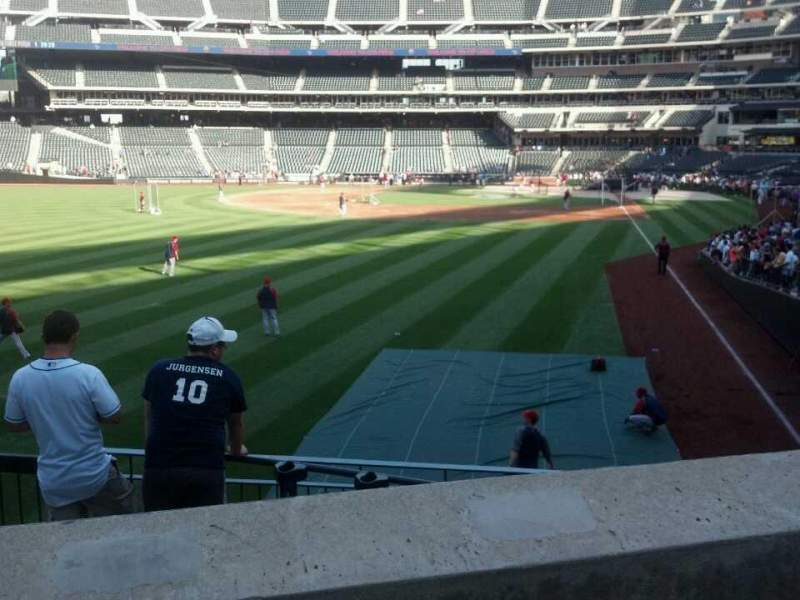 Seating view for Citi Field Section 132 Row 25 Seat 8