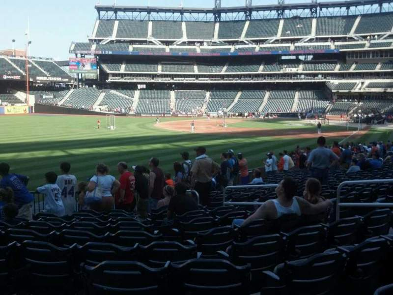 Seating view for Citi Field Section 130 Row 24 Seat 10