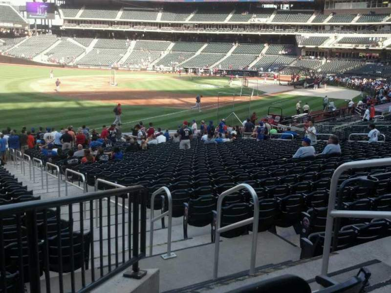 Seating view for Citi Field Section 127 Row 26 Seat 3