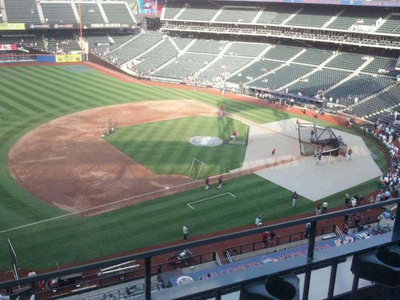 Seating view for Citi Field Section 424 Row 2 Seat 6