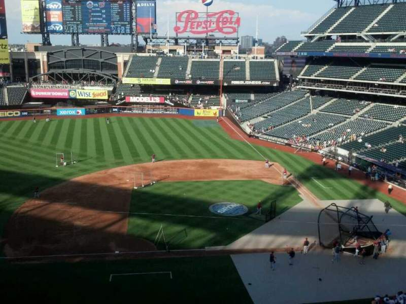 Seating view for Citi Field Section 421 Row 1 Seat 15