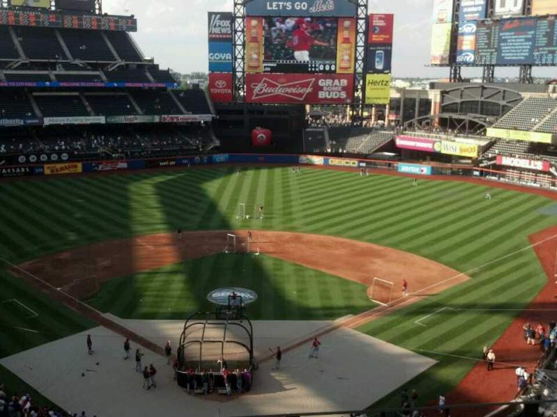 Seating view for Citi Field Section 414 Row 4 Seat 8