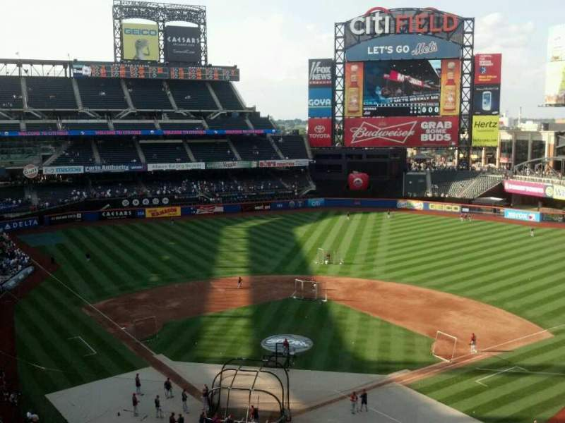 Seating view for Citi Field Section 413 Row 4 Seat 6