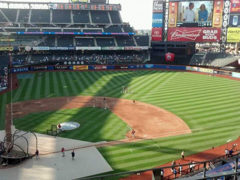 Seating view for Citi Field Section 410 Row 3 Seat 7