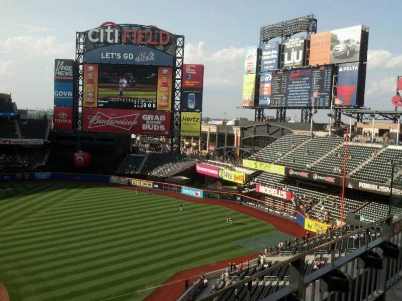 Seating view for Citi Field Section 408 Row 2 Seat 17