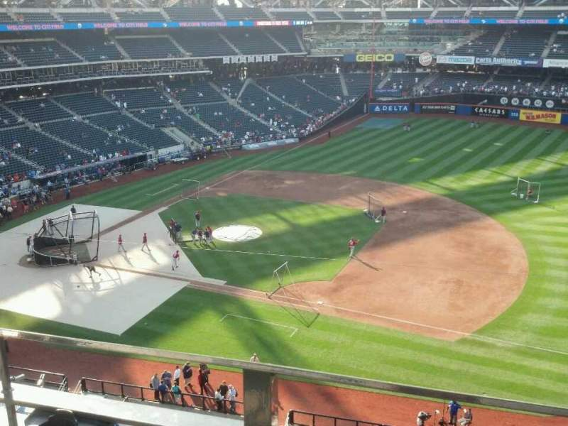 Seating view for Citi Field Section 406 Row 2 Seat 7