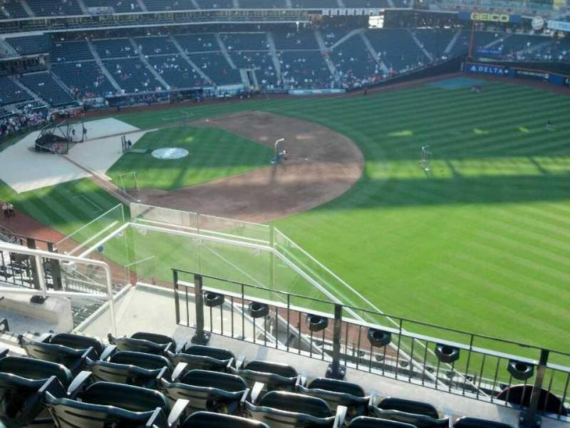 Seating view for Citi Field Section 501 Row 6 Seat 6