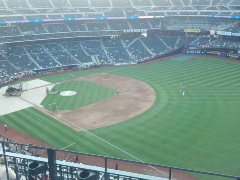 Seating view for Citi Field Section 502 Row 3 Seat 15