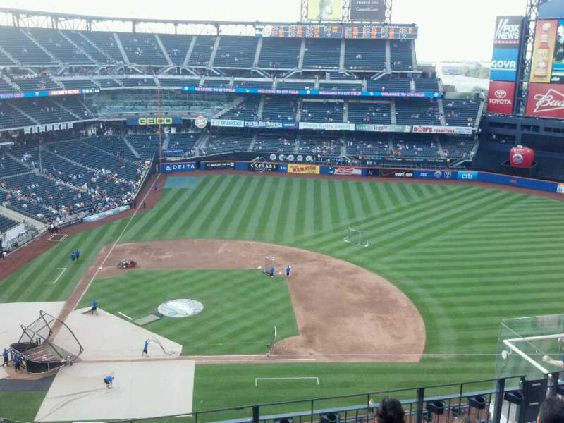 Seating view for Citi Field Section 508 Row 6 Seat 18