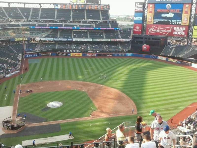 Seating view for Citi Field Section 509 Row 9 Seat 18