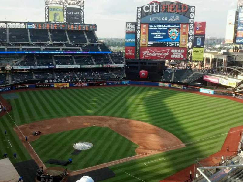 Seating view for Citi Field Section 511 Row 6 Seat 7